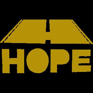 Hope (Hoffnung) Strasse Gold