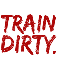Eat Clean Train Dirty Fitness Workout Geschenk Fit