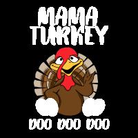 Mama Truthahn Erntedankgeschenk