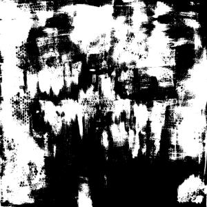 Acrylmalerei Monochrom Schwarz Weiss