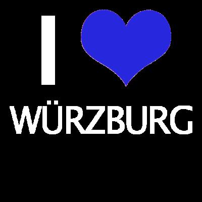 Würzburg - Würzburg - Würzburg,Wü,Unterfranken,I love,Bayern