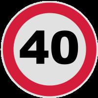 40. Geburtstag 40 Runder Geburtstag 3c