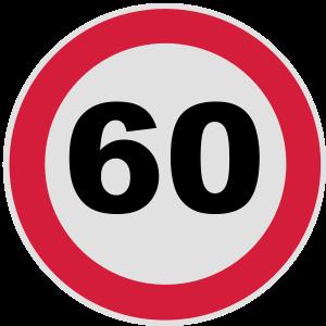 60. Geburtstag 60 Runder Geburtstag rund 3c