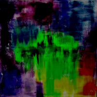 Abstrakte Malerei Bunt