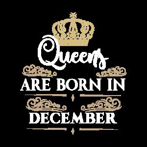 Geburtstag Frauen Mädchen Queens Königin Dezember