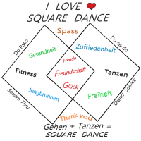 SQUARE DANCE - LOVE