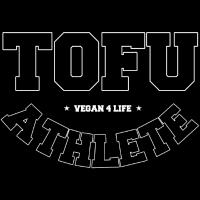 Tofu Athlete - Vegan 4 Life schwarz