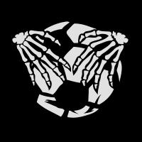 Fußball Fußball-Krallen Skeletthand