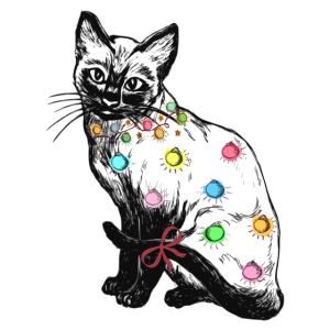 Xmas Katze - Weihnachten mal anders - Christmas