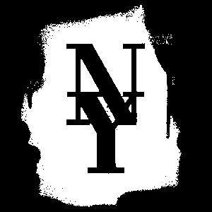 NY County Mets - New York City Graffiti Spray Weiß