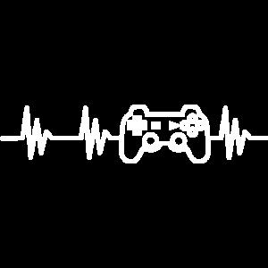 Controller Herzschlag, geschenk gaming videospiel