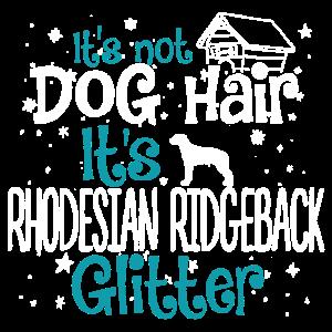 Es ist Rhodesian Ridgeback Glitter Shirt