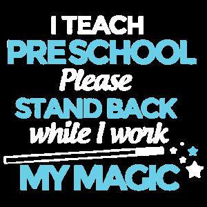 Ich unterrichte Vorschulhemd