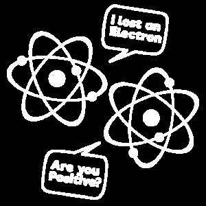 Physik - Ich habe ein Elektron-Shirt verloren