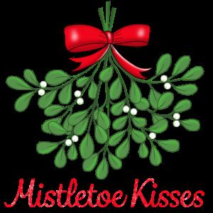 Küsse unterm Mistelzweig Feiertage Weihnachten