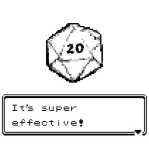 Coup critique d20 super efficace! - D & D Dnd