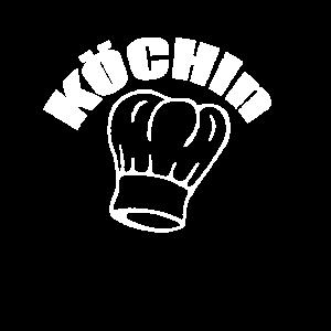 T-Shirt Kochschürze für Köchin