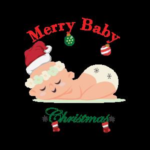 Merry Baby Christmas T-Shirt