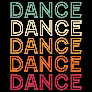 Dance Music Retro Vintage