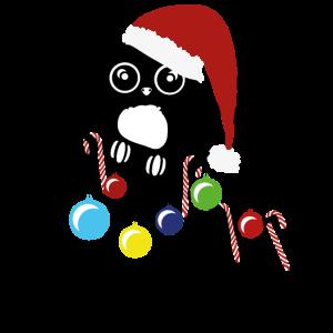 Weihnachts Eule