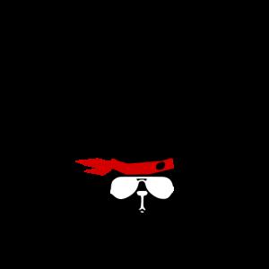 Papa Lama schwarz