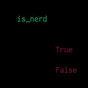 Python Definition von Nerd