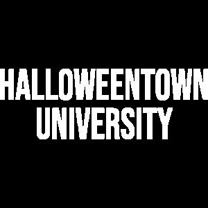 Halloween-Stadtuniversitätsgrafik