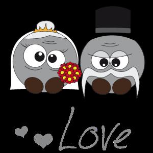 Pushy Brautpaar