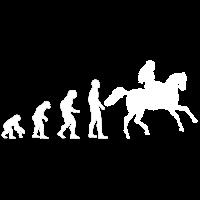 Evolution - Reiter - Reiten - Pferd - Geschenkidee