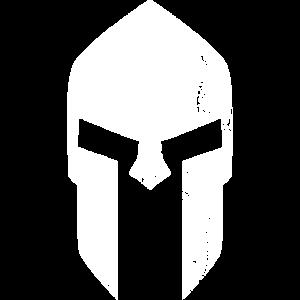 spartan helmet new white