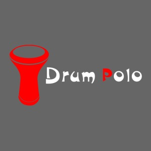 Drum Polo White / Red Back