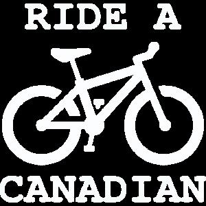 Reite einen Kanadier