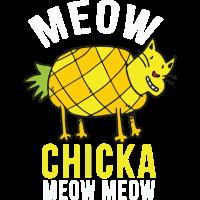 Küken ein Meow Meow