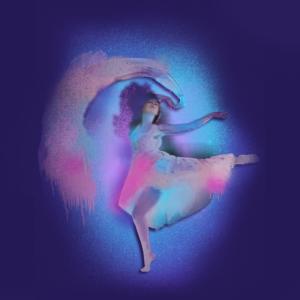 Tänzerin ,Graffiti,malerei, farben, ballerina