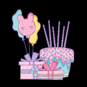 Geburtstagskuchen deluxe design