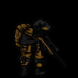 Tactical Dachshund Soldat Dackel Geschenk (0240)