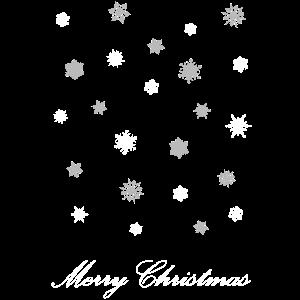 Merry Christmas Schneeflocken Schnee Weihnachten