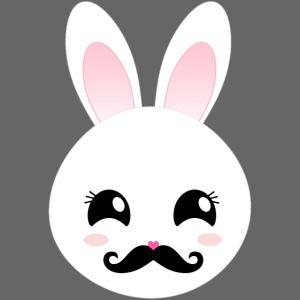 Sir Moustache Bunny