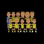 Double German champions 2012 squad