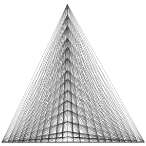 pyranidales Dreieck