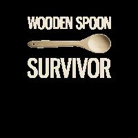 Wodden spoon survivor. Kochlöffel Erziehung