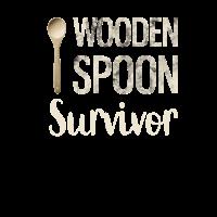 Wodden spoon survivor. Kochlöffel Löffel