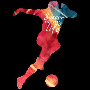 Fußball Soccer Fußballspieler