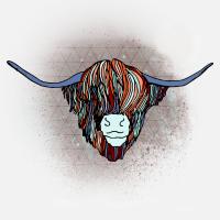 Highland Cow Wild