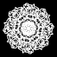 Rosenstrauß - weiß