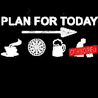 Dart plan for today - Dartboard, Dartscheibe