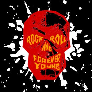 Rock Musik Totenkopp
