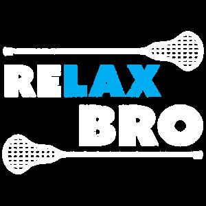Entspannen Sie sich Bro Lacrosse Shirt