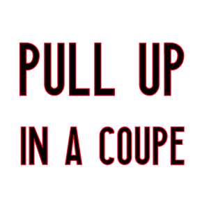 Pull Up Coupe   Hip Hop Rap Musik Rapper Geschenk