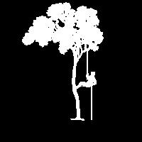 Baum Abseilen Klettern Beruf Geschenk